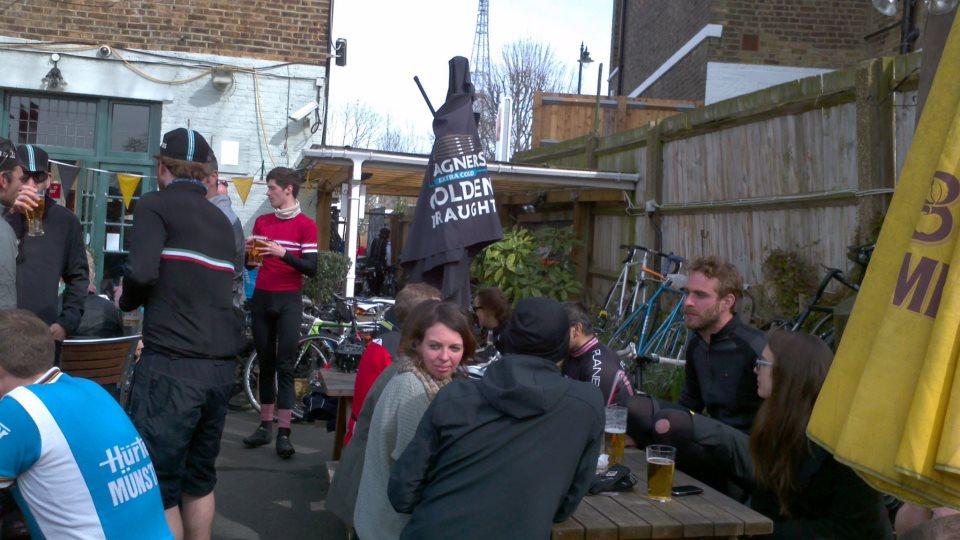 Back at the Gipsy Hill Tavern